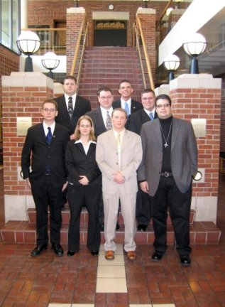 2008 UCM Regional team, 4th place.