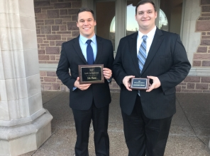 Luke Hawley and Zachary Sherwood Black team Fall 2017 Washu hardware