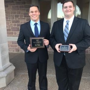 Luke Hawley and Zachary Sherwood Black team Fall 2017 Washu hardware