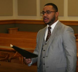 Broderick Hayes, Spring 2016 in ORCS prep at court