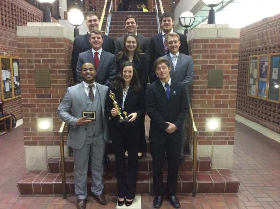 Spring 2015 team at MU. 1st Place!