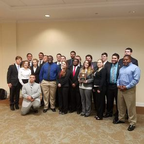 2016 UCM Mock Trial group at NWMO