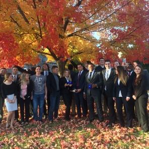 Fall 2016 full team on Drake Campus