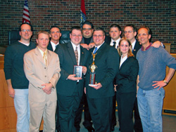 Spring 2008 AMTA Regional 4th place team