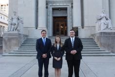 ORCS 2017 attorney squad, Luke, Maddie, Zach