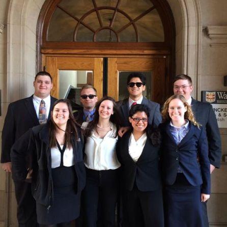 2014 ORCS team at Wash U.