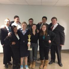7-1 tied 1st AMTA Regional, Spring 2014 in KC
