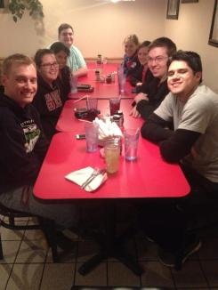 2014 Team on the road at Casanos in Hannibal.