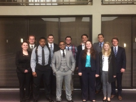 2016 ORCS team at St. Paul, MN, with Nick Wallace, ORCS outstanding witness award