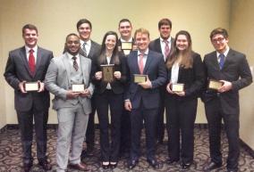 Spring 2015 Joplin. 1st place award with 7 individual awards.