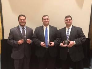 2018 All Regional winners Luke, Zach, Dom