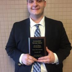 Dom Sherwood, Il State, 2018 award