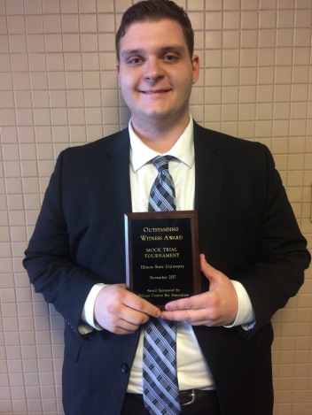 Dom Sherwood, 2017 Il State Witness Award