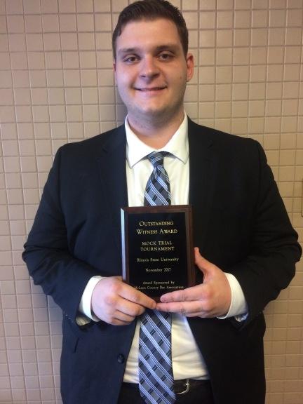 Dom Sherwood, 2017 Il State Witness Award