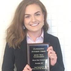 Chasity Merritt, Outstanding Attorney at Ill. State, 2018