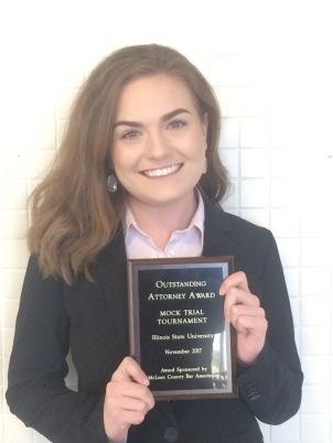 Chasity Merritt Fall, 2017 Attorney Award Il State