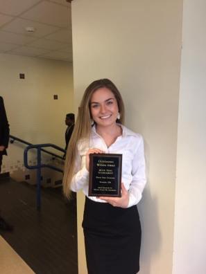 Chasity Merritt, Witness Award 2017