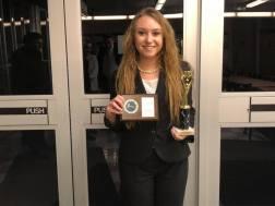 Jordan Todd (sph) Outstanding Attorney Award, UMKC, Fall 2018