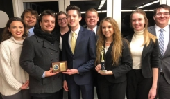 Fall 2018 team, 7-1 first place at UMKC