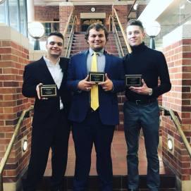 Spring 2019 in Columbia, Individual Awards Nicholas, Daniel, Zack