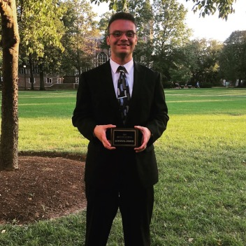 WashU 2019 OA award, Nicholas Hutsell
